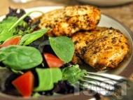 Пилешки гърди в сос от балсамико на тиган